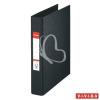 "ESSELTE Gyűrűs könyv, 2 gyűrű, 42 mm, A5, PP/PP, ESSELTE ""Standard"", Vivida fekete"