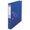 "ESSELTE Iratrendező, 50 mm, A4, PP/PP, élvédő sínnel, ESSELTE ""Standard"", kék"