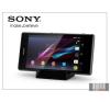 Sony Xperia Z1 (C6903) gyári asztali telefontartó töltő funkcióval - DK31 black mobiltelefon kellék