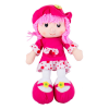 MK Toys Rózsaszín rongybaba, 40 cm