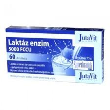 JutaVit Laktáz Enzim tabletta 60 db gyógyhatású készítmény