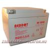 REDDOT 12V 24Ah Zselés akkumulátor