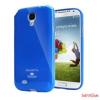 Jelly Galaxy Note 4 Edge rugalmas szilikon,Kék