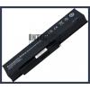 Fujitsu SQU-809  4400 mAh 6 cella fekete notebook/laptop akku/akkumulátor utángyártott
