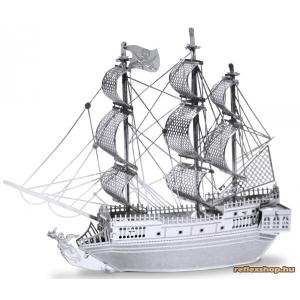 Fascinations Metal Earth Fekete Gyöngy vitorlás hajó