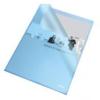 Leitz Genotherm, L, A4, 105 mikron, narancsos felület, ESSELTE Standard, kék (25db)