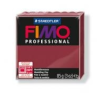 Gyurma, 85 g, égethető, FIMO Professional, bordó süthető gyurma