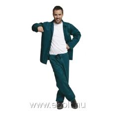 Cerva Öltöny deréknadrág+kabát zöld BE-01-001 56