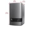 Western Digital External HDD WD My Book Duo, 3.5, 8TB, USB 3.0, black (WDBLWE0080JCH-EESN)