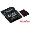 Kingston microSDHC 32GB UHS-I U3 (read/write;90/80MB/s) + Adapter (SDCA3/32GB)