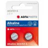 Agfaphoto alkáli gombelem LR41 AG3 (2db)