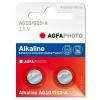 Agfaphoto alkáli gombelem LR54 AG10 (2db)