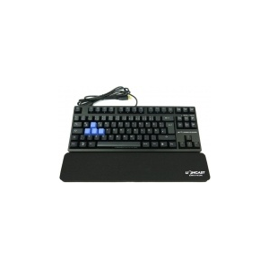 Lioncast LK20 Gaming Keyboard, MX Blue - Fekete