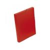 VIQUEL Iratgyűjtő gumis A/4 PP 30mm Coolbox, piros