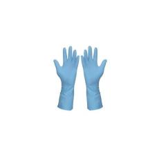 Háztartási gumikesztyű (kék), méret: 7