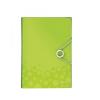 Leitz Irattartó harmonika WOW PP, zöld