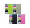 MQ Spirálfüzet MQ 4 Notebook A/4-4x25 lapos négyzetrácsos, PP, 47770-71-72-73 füzet