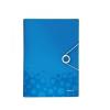 Leitz Irattartó harmonika WOW PP, kék