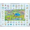 Larsen maxi puzzle 70 db-os Tanuljunk angolul! - Kirándulás EN4