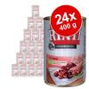 RINTI ínyenceknek gazdaságos csomag 24 x 400 g - Mix: marha, szárnyasszív, pacal, bárány