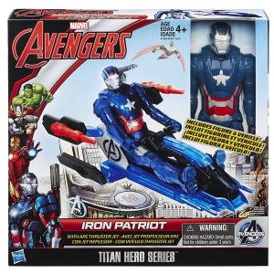 Bosszúállók: Ultron kora akciófigura járművel - Iron Patriot