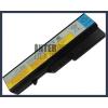 IdeaPad V570 4400 mAh 6 cella fekete notebook/laptop akku/akkumulátor utángyártott