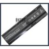 593562-001 4400 mAh 6 cella fekete notebook/laptop akku/akkumulátor utángyártott