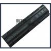 593553-001 6600 mAh 9 cella fekete notebook/laptop akku/akkumulátor utángyártott