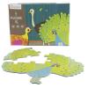 Avenue Mandarine 3 XL puzzle - Tollas állatok