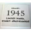 Tréfás póló 70 éves, Készült 1945...  (L)