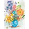 Heye puzzle 500 db - Blue Vase, Florals