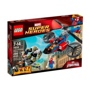 LEGO LEGO Super Heroes: 76016 Pók-helikopteres mentés