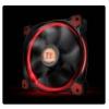 Thermaltake Riing 12, 120mm LED ventilátor - piros