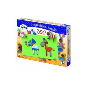 Detoa Mágneses puzzle ZOO