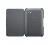 Samsung EFC-1E2NBECSTD oldalra nyíló szövetbevonatos támasztós gyári tok fekete (P6200 Galaxy Tab 7.0 Plus)** tablet tok