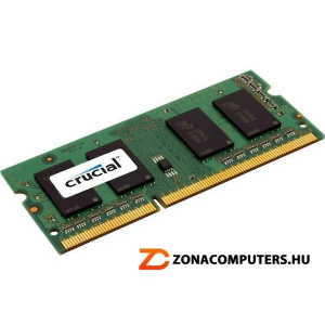 Crucial DDR3L 4096MB 1600MHz 1,35V CT51264BF160B cl9 NOTEBOOK So-Dimm ram