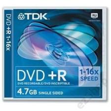 TDK ÍRHATÓ DVD TDK DVD+R (16X) 4.7GB NORMÁL (HOL) írható és újraírható média
