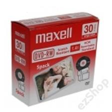 Maxell ÍRHATÓ DVD MAXELL DVD-RW NORMÁL (H) írható és újraírható média