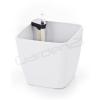 G21 Cube önöntöző kaspó, fehér, 22cm