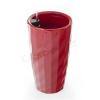 G21 Diamant önöntöző kaspó, piros, 33 cm