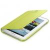 Samsung EFC-1G5SME oldalra nyíló szövetbevonatos támasztós gyári tok zöld (P3100)*