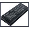 X50Gi 4400 mAh 6 cella fekete notebook/laptop akku/akkumulátor utángyártott