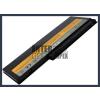 IdeaPad U350W 2800 mAh 4 cella fekete notebook/laptop akku/akkumulátor utángyártott