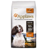 Applaws Adult Small & Medium Breed csirke - 7,5 kg
