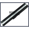 X52B 4400 mAh 6 cella fekete notebook/laptop akku/akkumulátor utángyártott