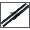 X52F 4400 mAh 6 cella fekete notebook/laptop akku/akkumulátor utángyártott