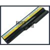 IdeaPad V460A-IFI(H) 4400 mAh 6 cella fekete notebook/laptop akku/akkumulátor utángyártott