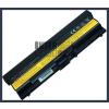 ThinkPad Edge 15 6600 mAh 9 cella fekete notebook/laptop akku/akkumulátor utángyártott