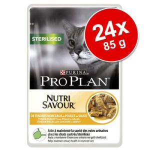 Pro Plan Sterilised 24 x 85 g - Sterilised csirke