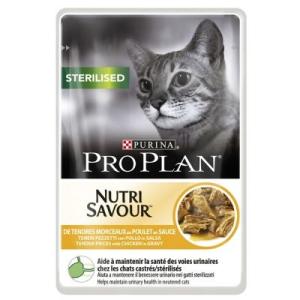 Pro Plan Sterilised 6 x 85 g - Sterilised marha